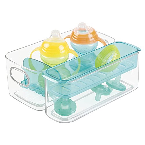 mdesign sortierbox f r babyartikel als aufbewahrungsbox im kinderzimmer oder in der k che zur. Black Bedroom Furniture Sets. Home Design Ideas