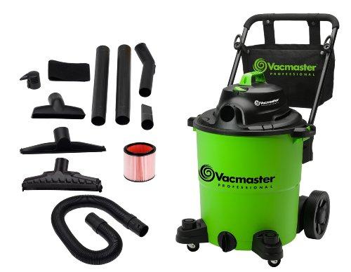 Vacmaster VJ1412P Professional Wet/Dry Vacuum, 14 Gallon, 6.5 HP