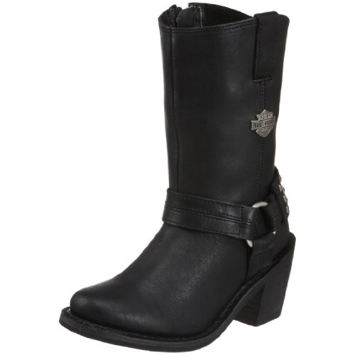 Harley Davidson Womens Mylie Boot ,Black,6.5 M US