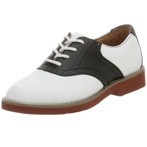 black and white keds saddle oxfords