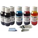 20 oz (600 ml) Jumbo Canon Printer Ink Refill Kit Color & Black