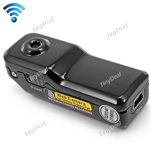 Mini WiFi IP Wireless CCTV Surveillance Camera Camcorder for Android iPhone EVC-330074