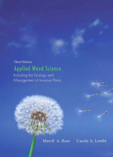 Applied Weed Science: Including the Ecology and...