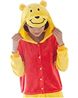 Winnie l'ourson Adulte Hommes Femmes Unisexe Anime Animaux Kigurumi Cosplay Pyjamas Outfit Nonopnd Nuit Vêtements Onesies Halloween Costume Vêtements Vêtements Siamois Partie événements Vêtements Enceintes Winnie l'ourson
