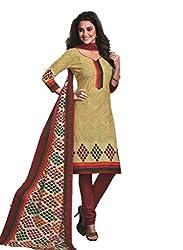 Design Willa Cotton Dress Material Saree (DW0296)