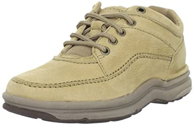 Rockport Men's World Tour Classic Walking Shoe,Sand Nubuck,6 M US