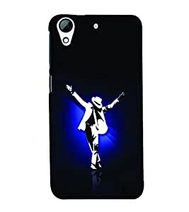 Man Dancing in White Suit and Hat 3D Hard Polycarbonate Designer Back Case Cover for HTC Desire 626 :: HTC Desire 626 Dual SIM :: HTC Desire 626S :: HTC Desire 626 USA :: HTC Desire 626G+ :: HTC Desire 626G Plus