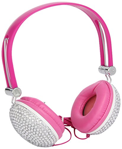 Trendimport 10549600 Tussi on Tour Cuffie con strass, rosa
