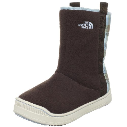 The North Face Litalyte Cold Weather Boot (Toddler/Little Kid/Big Kid),Something Blue (Plaid)/DemItalyasse Brazilown,3 M US Little Kid