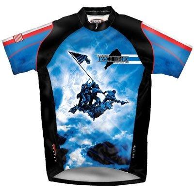 Buy Low Price Primal Wear Men's Iwo Jima Tribute Military Short Sleeve Cycling Jersey – IWO1J20M (IWO1J20M)