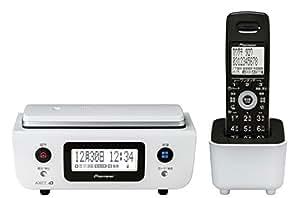 Pioneer デジタルコードレス電話機 子機1台付き 1.9GHz DECT準拠方式 ピュアホワイト TF-FD31W-W
