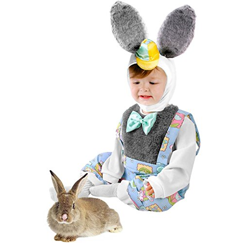 Child's Toddler Boy Nursery Rhyme Bunny Costume (2-4T)