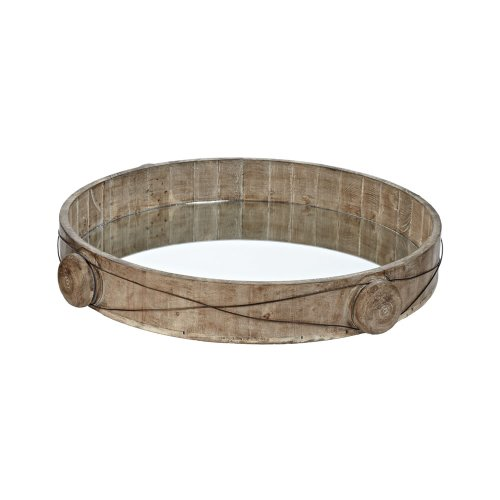 Mirrored Wood Tray front-1031065