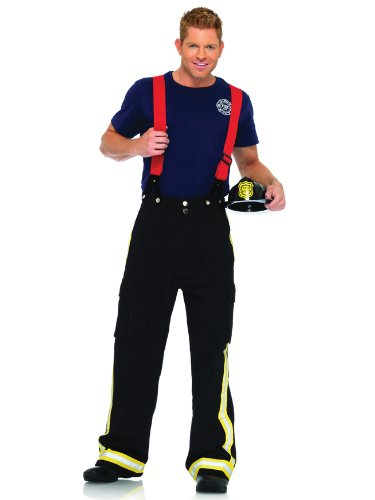 Mens Fireman Costume Fire Fighter Couples Costume Idea