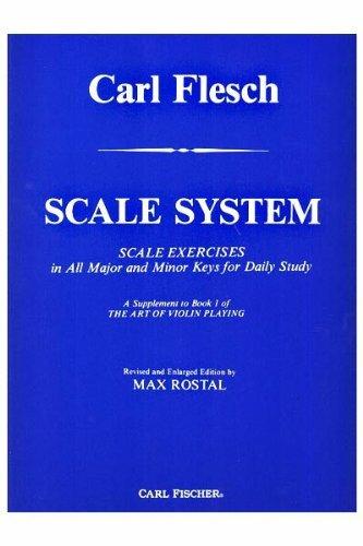 Sistema de escala para violín de Carl Flesch