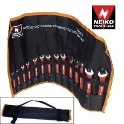 SOFT-GRIP Combination 11-Piece SAE Wrench Set - Extreme Temperature Protection
