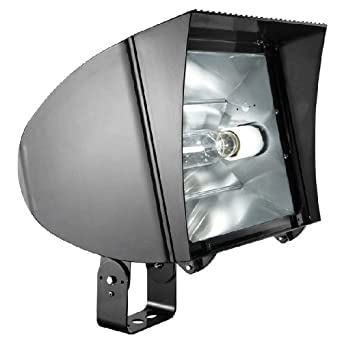 RAB Lighting FXLH400TPSQ Flexflood Pulse Start Metal Halide Floodlight