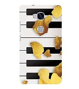 PRINTSHOPPII PIANO KEYS Back Case Cover for Huawei Honor 5X