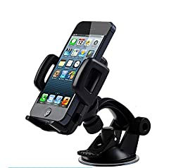 Universal Car Mount for iPhone 4S/5/5S/5C,3gs,ipod,gps,PDA,samsung galaxy,HTC, nokia,lg,blackberry holder ect.