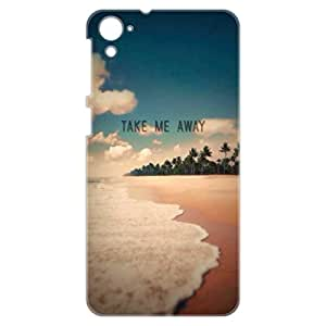a AND b Designer Printed Mobile Back Cover / Back Case For HTC Desire 826 (HTC_826_3D_1567)