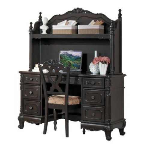 Homelegance Cinderella Writing Desk w/ Hutch