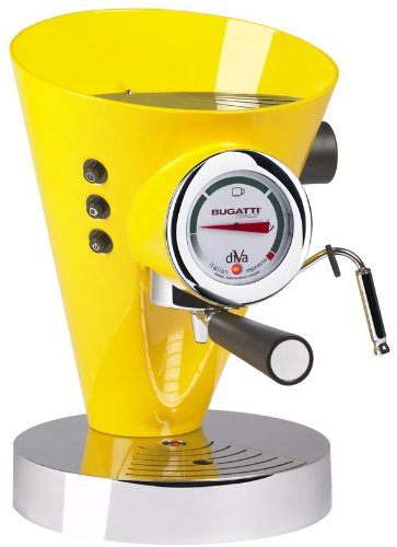Bugatti DIVA  - Espresso Machine Yellow