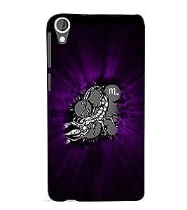 EPICCASE Sting Mobile Back Case Cover For HTC Desire 820 (Designer Case)