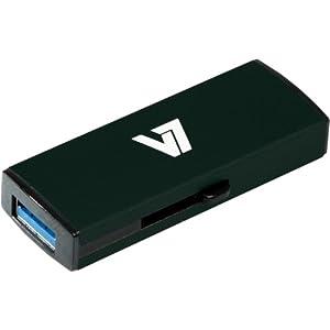 V7 8GB USB 3.0 Flash Drive (VU38GDR-BLK-2N)
