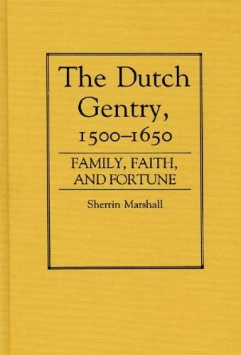 the-dutch-gentry-1500-1650-family-faith-and-fortune-contributions-in-family-studies-by-sherrin-marsh