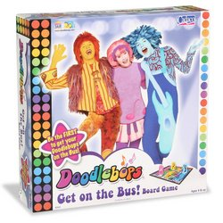 Doodlebops Get on the Bus Board Game - 1