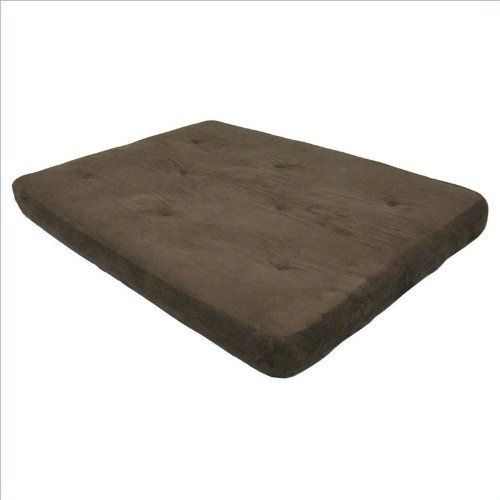 New DHP 6-Inch Futon Mattress, Chocolate Brown