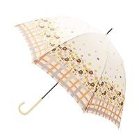 (グローブ)grove フラワー&チェック晴雨兼用長傘