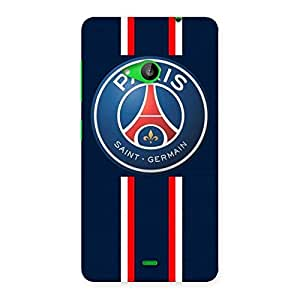 Delighted Paris Bar Back Case Cover for Lumia 535