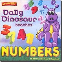 Dally Dinosaur Teaches Numbers