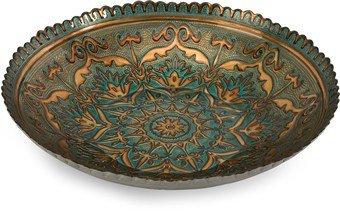 Imax Ravenna Glass Bowl