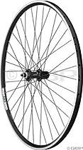 Handspun Sport Series 3 Rear Wheel: Shimano 105-5700 36h Black, Velocity A23 700c Black