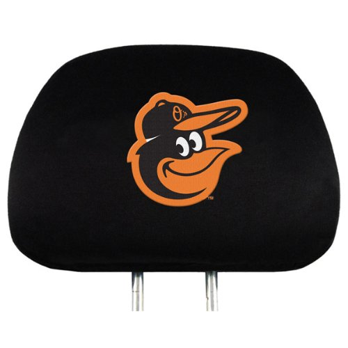 Find Out Baltimore Orioles 2 Pack Black Velour Auto Head