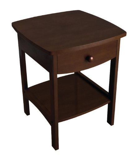 Best Price! Winsome Wood Accent Table , Walnut