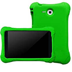 BMOUO Samsung Galaxy Tab A 7.0 Case - Kids EVA Ultra Light Weight Shock Proof Kids Friendly Case Cover for Samsung Tab A 7-Inch Tablet, Green Color