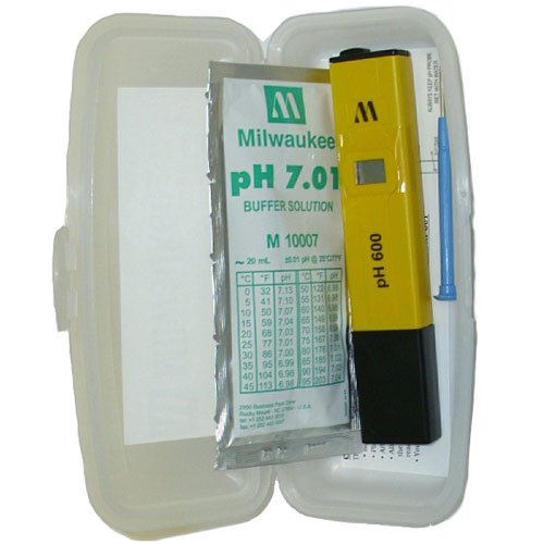 Milwaukee Instruments Ph600Aq Ph Tester With 1 Point Manual Calibration