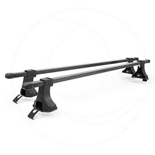 LT Sport SN#100000001028-205 For Multiple Vehicle Black Adjustable Roof Rack Top Cross Bars (Roof Rack Corolla 2009 compare prices)