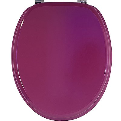 Toilet Seat Colour: Raspberry