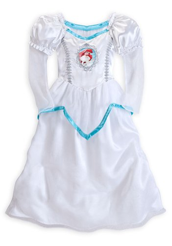 Disney Store Princess Ariel The Little Mermaid Wedding Nightgown