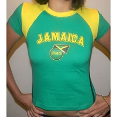 Ladies Youth Jamaica Soccer Jersey Size Medium Runs Small