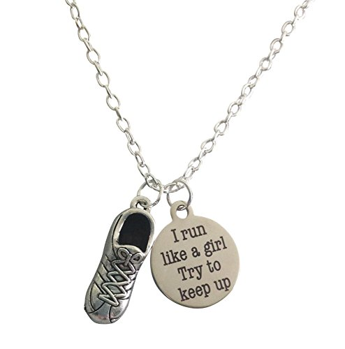 run-like-a-girl-necklace-by-thimbleful-threads-with-3d-running-shoe-and-run-like-a-girl-charms
