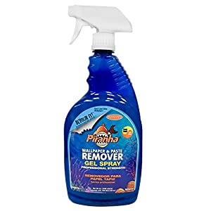 piranha 206015 32 oz gel spray wallpaper and