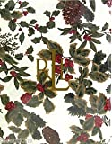 rll-bm84n8 Ralph Lauren Birchmont Red Holly Holiday Set 84 x 60 Tablecloth & 8 Dinner Napkins Christmas Red Green