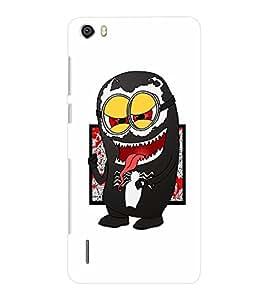 EPICCASE Minion Symbiote Mobile Back Case Cover For Huawei Honor 6 Plus (Designer Case)