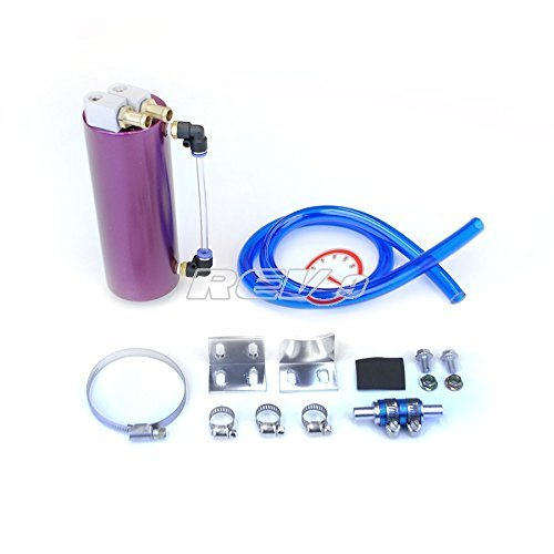 Godspeed Universal Racing Oil Catch Can Tank Oil Reservoir Tank Purple Color (Universal Catch Can compare prices)