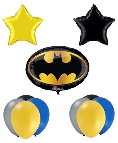 Batman Birthday Party Balloon Supplies (Batman Supplies compare prices)